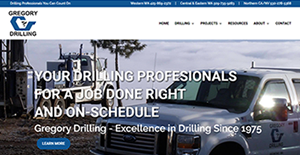 View full website: Go to www.gregorydrilling.com now.